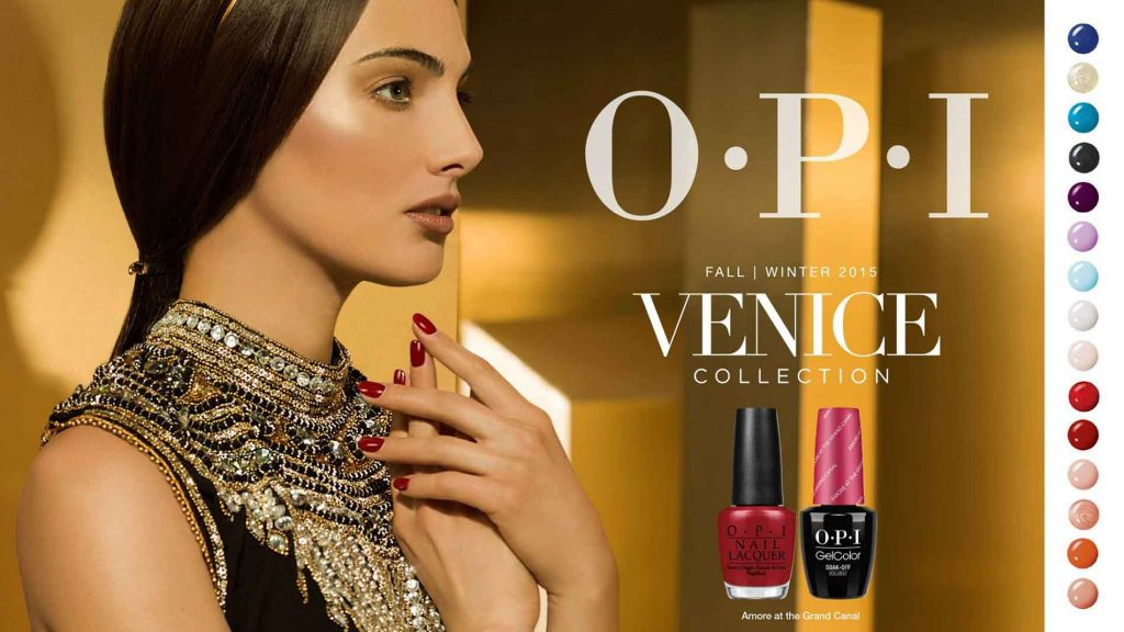 Flower of life - Promotion - OPI Venice fall-winter